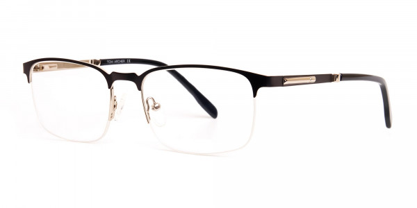 grey-gunmetal-rectangular-half-rim-glasses-frames-2