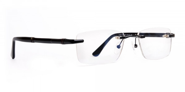 black-rectangular-rimless-titan-glasses-frames-2