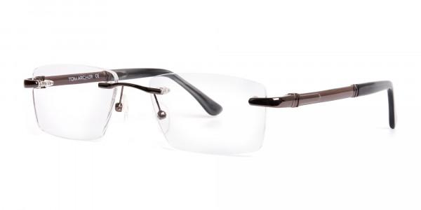gunmetal-rectangular-rimless-glasses-frames-3