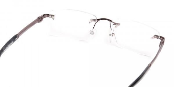 gunmetal-rectangular-rimless-glasses-frames-5
