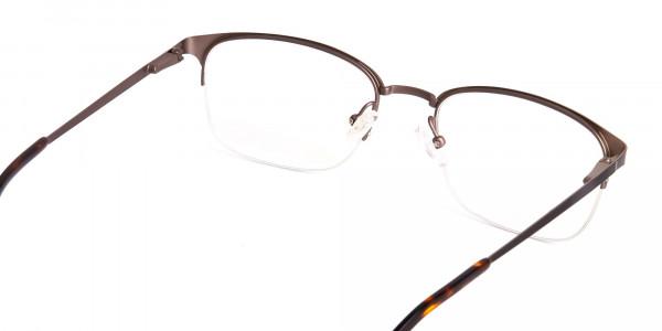 matte-brown-half-rim-rectangular-glasses-frames-5