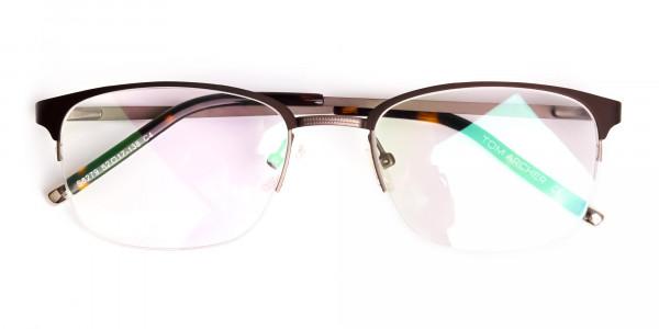 matte-brown-half-rim-rectangular-glasses-frames-6