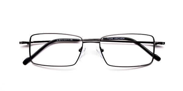 Titanium Glasses in Gunmetal, Eyeglasses - 6