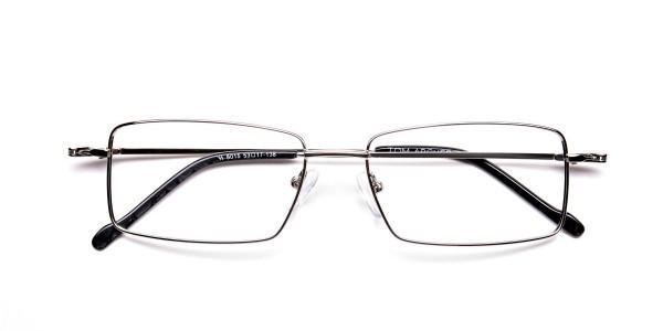 Titanium Glasses in Silver, Eyeglasses - 6