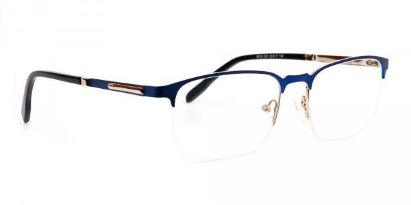 dark-and-navy-blue-rectangular-half-rim-glasses-frames -2