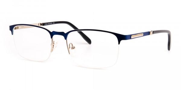 dark-and-navy-blue-rectangular-half-rim-glasses-frames -3