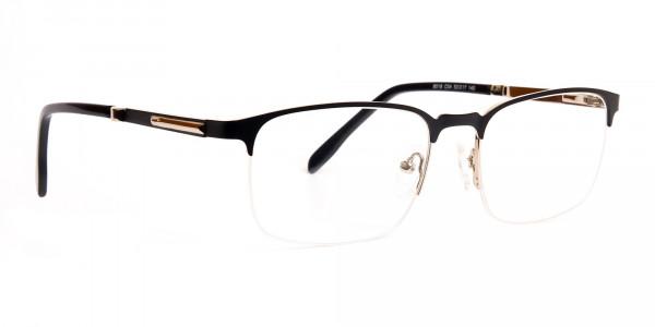 black-and-silver-rectangular-half-rim-glasses-frames-2