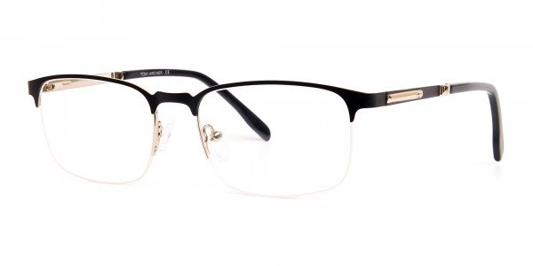 black-and-silver-rectangular-half-rim-glasses-frames-3
