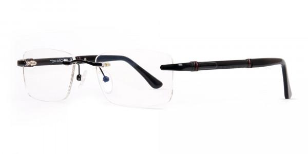 black-rectangular-rimless-titan-glasses-frames-3