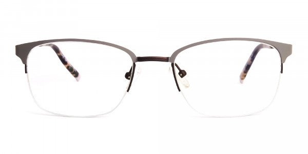 rectangular-gunmetal-half-rim-glasses-frames-1