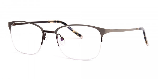 rectangular-gunmetal-half-rim-glasses-frames-3