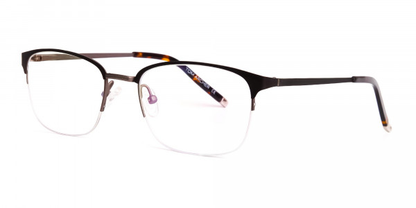 matte-brown-half-rim-rectangular-glasses-frames-3