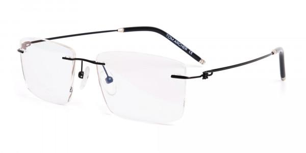 designer-black-rectangular-rim-less-glasses-frames-3