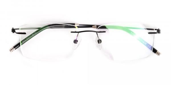 designer-black-rectangular-rim-less-glasses-frames-6
