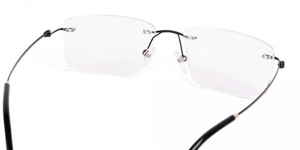 designer-black-rectangular-rim-less-glasses-frames-5