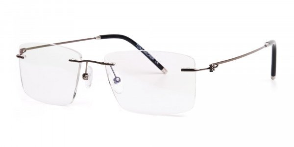 gunmetal-rectangular-rimless-titanium-glasses-frames-3