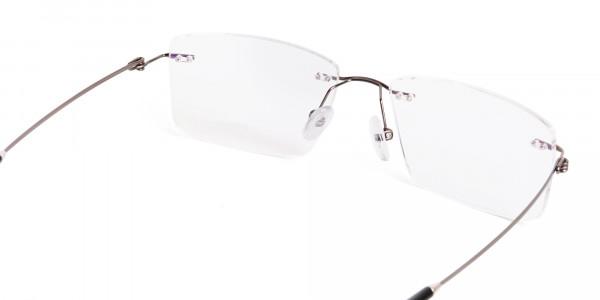 gunmetal-rectangular-rimless-titanium-glasses-frames-5