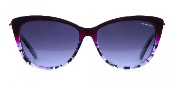 Drops of Wine Purple Cat Eye Sunglasses
