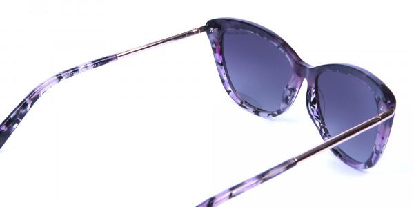Drops of Wine Purple Cat Eye Sunglasses - 4