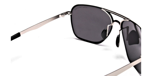 Sleek Silver & Black  -5