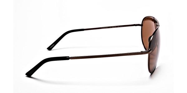 Smart Trendy Brown Sunglasses  - 3