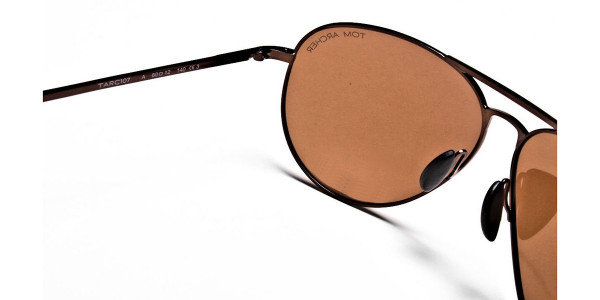 Smart Trendy Brown Sunglasses - 4
