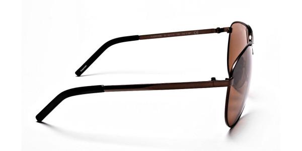 Brown Big Lenses Sunglasses - 3