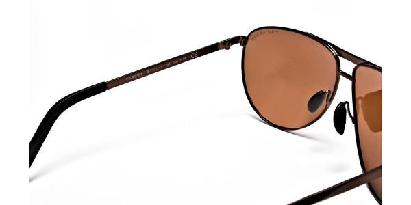 Brown Big Lenses Sunglasses - 4