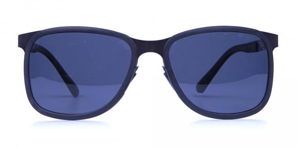Gunmetal Temple Sunglasses