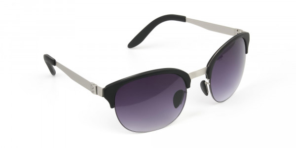 Stylish-Dark-Grey-Round-wayfarer-Sunglasses-Frames-2