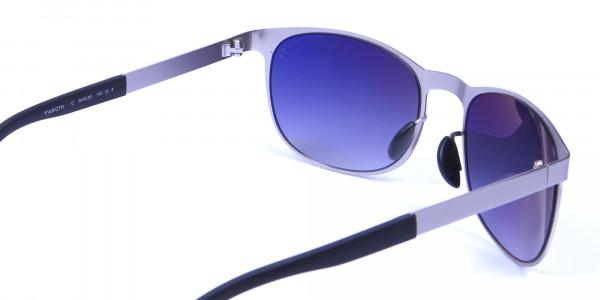 Silver Framed Sunglasses -4