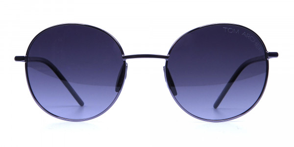 Gunmetal Sunglasses for Narrow Faces