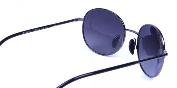 Gunmetal Sunglasses for Narrow Faces - 4