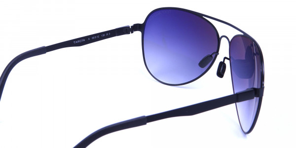 Bold Black & Grey Sunglasses -4