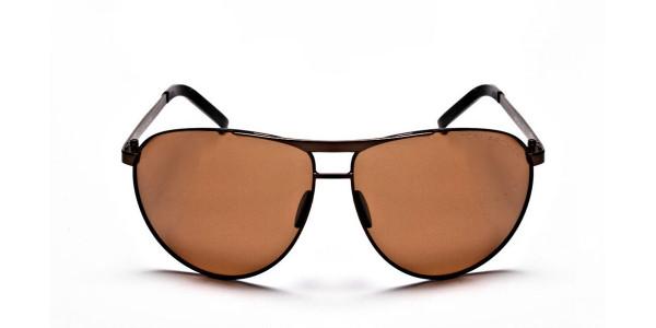 Brown Big Lenses Sunglasses