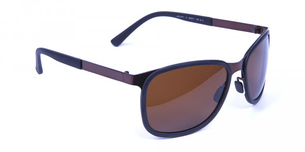 Luxury All Brown Sunglasses -1