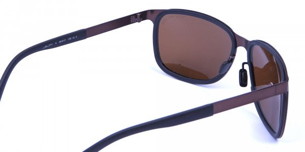Luxury All Brown Sunglasses -4
