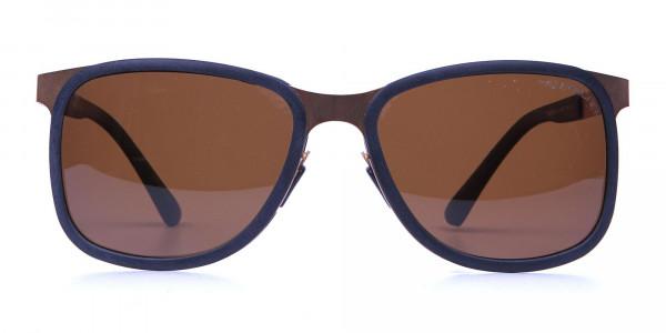 Black & Gold elegant sunglasses