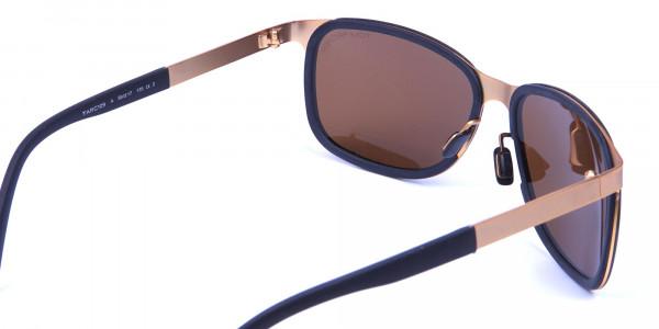 Black & Gold elegant sunglasses -4