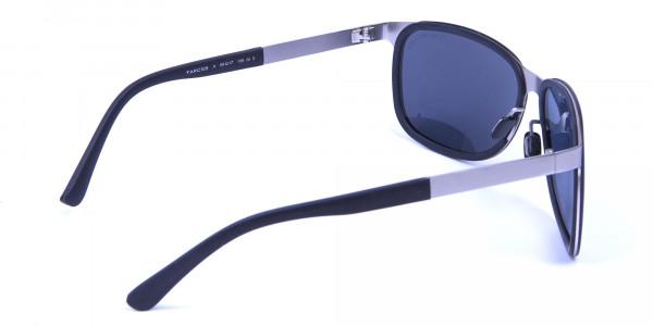 Flattering Silver Sunglasses -4