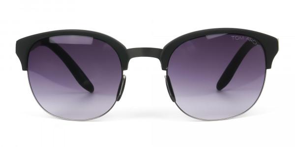 Stylish-Dark-Grey-Round-wayfarer-Sunglasses-Frames-1
