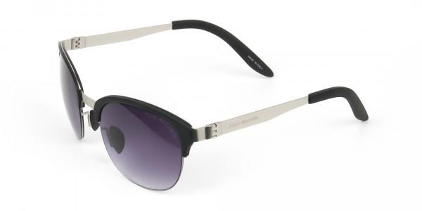 Stylish-Dark-Grey-Round-wayfarer-Sunglasses-Frames-3