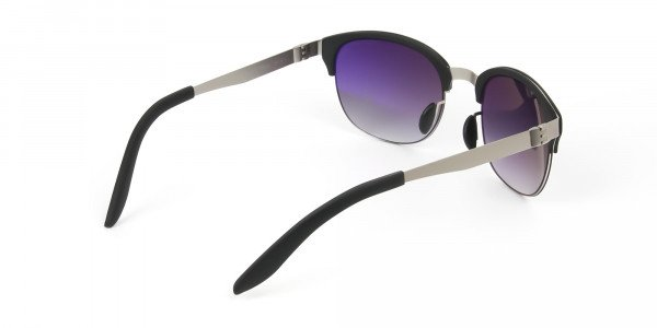 Stylish-Dark-Grey-Round-wayfarer-Sunglasses-Frames-5