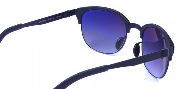 Comfy Black Framed Sunglasses -5