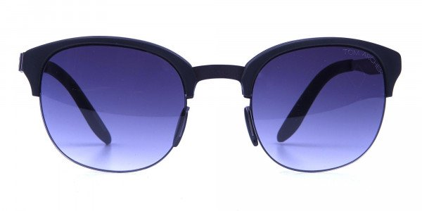 Gunmetal Sunglasses with Cool Tint