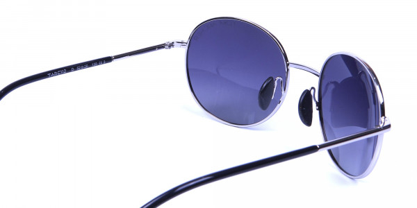 Silver Sunglasses Round Frames -