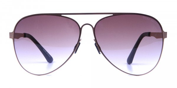 Brown & Gold Avatar Sunglasses