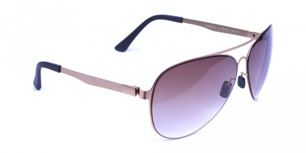Brown & Gold Avatar Sunglasses -1