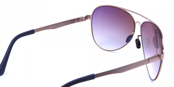 Brown & Gold Avatar Sunglasses -4