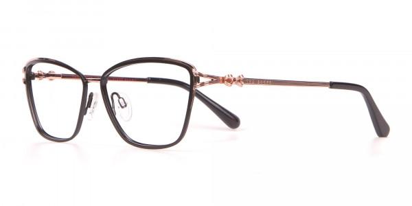 Ted Baker TB2245 Tula Women's Classic Cat Eye Glasses Black-3